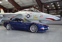 Vettes and Jets / Corvettes with jets, airplanes, helicopters, rockets and just about anything else that flies.