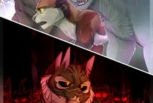 Cats from warrior cats