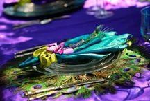 Mauve et Turquoise
