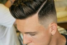Hommes fades coiffures