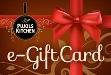 E-Gift Cards for someone special