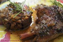 Ma cuisine méditerranéenne / Des plats qui sentent bon la Provence et l'Italie.