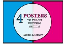 Media and English TpT Store / Media Literacy, Visual Literacy and English Literacy teaching resources for theory and practical lessons for primary and high school classrooms.