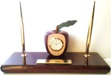 Blast from the past / Items that (though no longer available) were part of the history of hand crafted clocks and decor that were made here at Theisen Clock & Novelty.