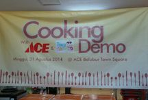 Event 17 : Cooking Demo. @ACE Baltos