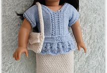 vêtements poupées