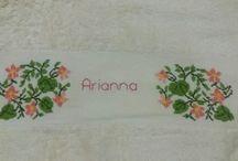 asciugamani personalizzati / Creazioni handmade