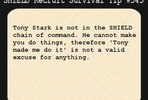S.H.I.E.L.D. Recruit Survival Tips/from the desk of Fury