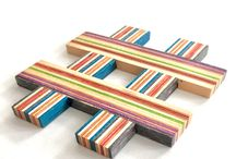 HashDeck™ coaster by Focused Skateboard Woodworks