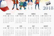 Calendarios ❤️