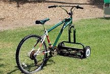Cut the grass and cycle