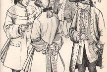 XVIII wiek - moda męska / Moda męska XVIII wiek