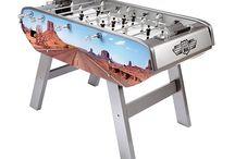 Foosball Tables / Bonzini U.S.A, Shelti, Performance Games & Tornado Foosball Tables