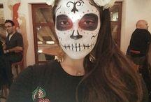 Maquillaje de día de muertos
