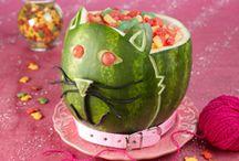 Watermelon Food