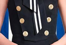 Морской стиль одежда