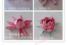 Origami papel y carton