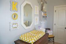 żółto-szary pokój | yellow-grey room