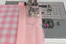 sew: tips: edges / corners, piping, bias tape, edge treatments / by MayMay