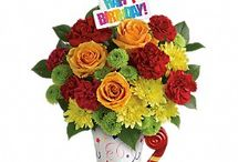 """Birthday /  Look no further than James Flower & Gift Shoppe for birthday ideas and birthday gifts! Liven up any birthday party with a festive bouquet of birthday flowers or surprise them with a cheerful """"Happy Birthday"""" bouquet! Or give them a long lasting plant or romantic roses. Everyone loves flowers for birthdays!"""