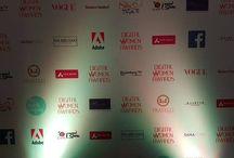 Event branding for the Digital Women Awards