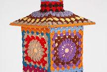 crochet / lámpa,esernyő,legyező........