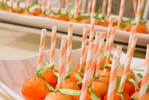 Orange Party Ideas / Some Ideas For a Orange Themed Party!!