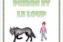 Pierre et le loup / Lapbook Pierre et le loup de l'Association Carpe Diem