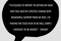 TESTIMONIALS AND CLIENT COMMENTS / This board simply features nice things people have said about my health and fitness services.