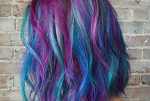 mermaid or sunset balayage / time for a mommy makeover... what shall it be!? wanna go colorful with a style that will grow out nicely without need for maintenance...