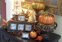Fall Decorating / by Kristen Roberts