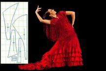 Flamenco / Mainly Flamenco costumes but anything flamenco really - flamenco dresses, bata de cola, flamenco fashion, flamenco skirts, flamenco dancers, loving ruffles and polka dots