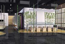 Die +Zahnärzte in Düsseldorf / Entwurf & Gesamtkonzept bei Carine Stelte Designs