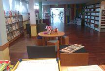 Mudanças BMA - 19/12/2014 / Mudanças da disposição das salas infanto-juvenil e audiovisuais. Árvore de natal da biblioteca.
