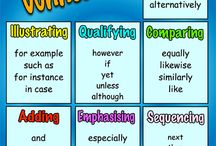 Writing / A selection of Writinging posters to support teachers in class. Visit www.thepunctuationshow.com to download hi res copies.