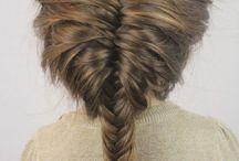 Fletter/hår