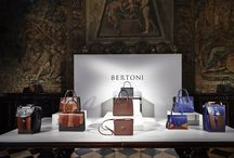F/W 2016 Women's collection - Bertoni1949 / The American dream continues with the Nomad's Land Collection. The launch of the new Women bags collection FW16 at Museo Bagatti Valsecchi in Milan, Feb. 2016, during Milano Fashion Week 2016.