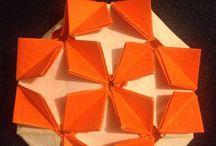 Origami creations / Pretty paper folding