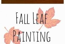 Fall Tot School Crafts
