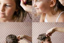 Hair idea for the girls