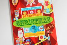 PAPERCRAFT CHRISTMAS, HAPPY BIRHTDAY AND THANK YOU BOOKS