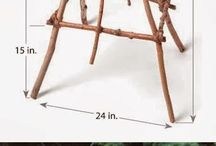 DIY/ bricolaje para el jardín