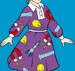 Style - Miss Frizzle has fly style! / My teaching style inspiration as well as fashion inspiration. She is one kooky, wonderful, kind, smart lady, I hope I can be even half as awesome as she is! / by Mel Holl