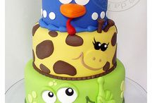 Animal cake / by Jessica Berglin