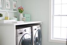 // home : basement // zuhause : keller // / keller, waschküche, waschkeller, waschmaschine, putzmittel aufbewahrung
