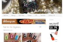 Manicure blogger