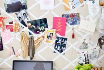 Pin boards / Ideas for kids, family area and my new studio