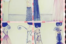 Fashion and design / Colours, patterns, my drawings, my source of inspiration