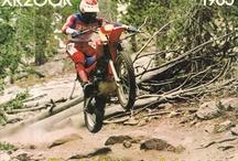 Old dirt bikes