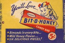 Childhood candies & other goodies / Delicious old fashioned candies and other goodies / by B B